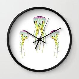JELLY BLOSSOM Wall Clock