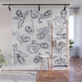 cute quirky witches Wall Mural