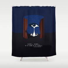 mulholland drive Shower Curtain