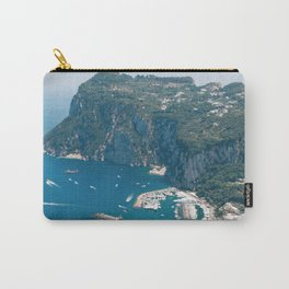Italy, Capri Landscape View Carry-All Pouch