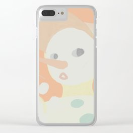 Snowboy Clear iPhone Case