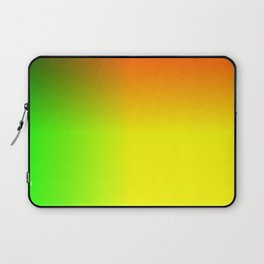 Rainbow red, yellow, and green ombre flame print Laptop Sleeve