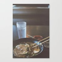 ramen Canvas Prints featuring Ramen  by Warren Silveira + Stay Rustic