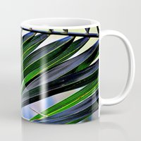 palm Mugs featuring palm by  Agostino Lo Coco