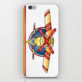 Airplane Print iPhone Skin