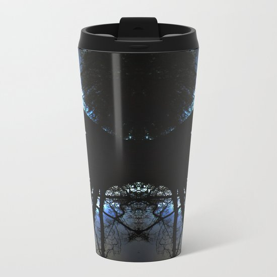 Treeflection VI Metal Travel Mug
