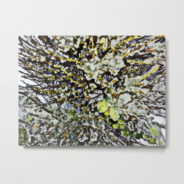 Colors of an Ice Storm Metal Print
