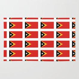 Flag of timor -Timor leste,Timór Lorosa'e , dili,tetum,Timorese,Maubere. Rug