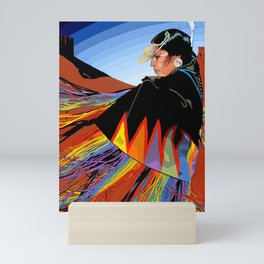 Shawl Dancer Mini Art Print