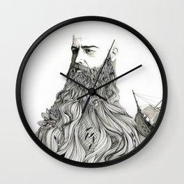 The Captain Wall Clock