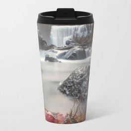 Fall at Middle Falls Travel Mug