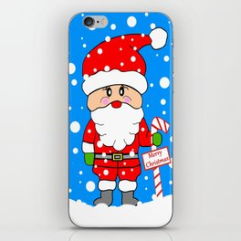 Merry Christmas Santa iPhone Skin
