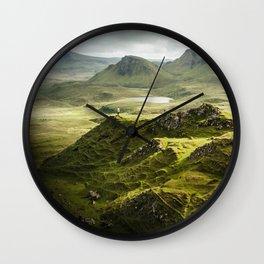 Isle of Skye, Scotland Wall Clock