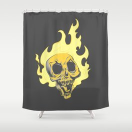 Ghost Drifter Shower Curtain