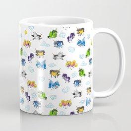 All Unicorn Pattern Coffee Mug