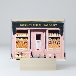 Sweetings Bakery Mini Art Print