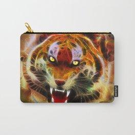Cosmic Fire Tiger Roar Carry-All Pouch