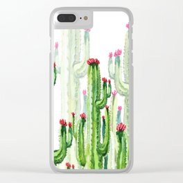 cactus four new Clear iPhone Case