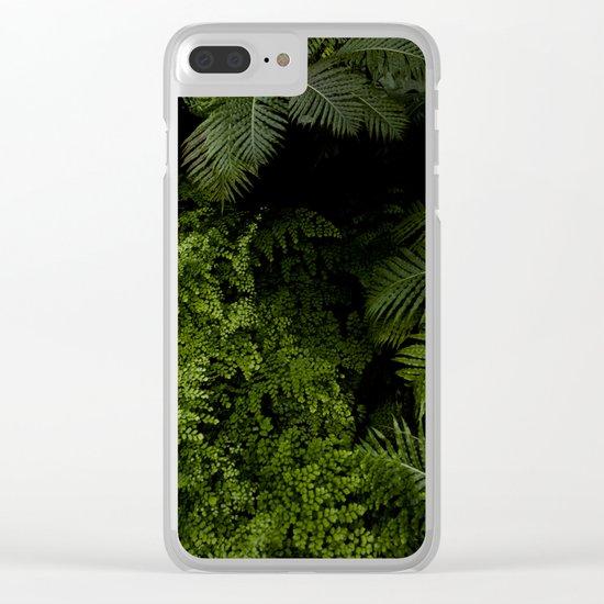 Tropical jungle. Clear iPhone Case