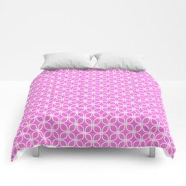 Trellis_Pink Comforters