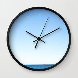 Coney Island blues Wall Clock