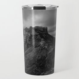 Top of Lost Mine Trail Mountaintop View, Big Bend - Landscape Photography Travel Mug