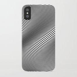 Bold Minimal Lines iPhone Case