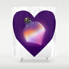 Lesbian Pride Potion Shower Curtain