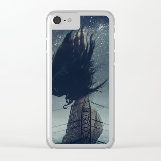 Can't hold me down Clear iPhone Case