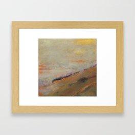 Drifting Mist Framed Art Print