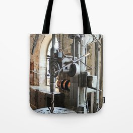 Heavy Industry - Drilling Machine Tote Bag