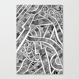 Vitrage Canvas Print