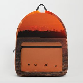 Flight Over the Sun Backpack