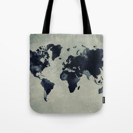 map world map 60 Tote Bag