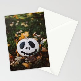 Jack Skeleton Pumpkin Stationery Cards