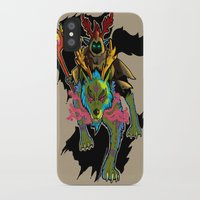 warcraft iPhone & iPod Cases featuring Druid by Electra Vasiliadi
