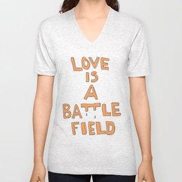 love ISA Battlefield Unisex V-Neck