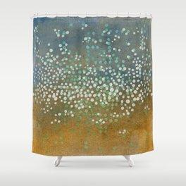 Landscape Dots - Float Shower Curtain