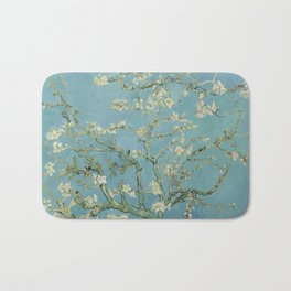 Almond Blossoms Bath Mat