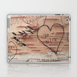 Love Memories in Lover's Lane, Green Gables Laptop & iPad Skin