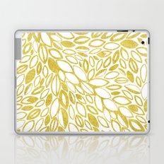 Golden Doodle petals Laptop & iPad Skin