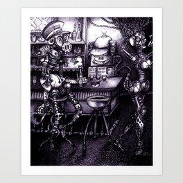 Compatibility Check Art Print