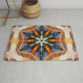 compass directions Rug