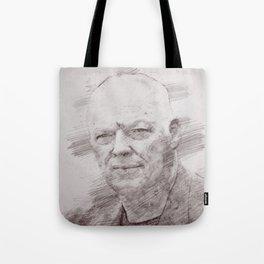 David Gilmour drawing Tote Bag