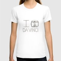 da vinci T-shirts featuring Da Vinci by Normandie Illustration