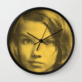 Face of raster Wall Clock