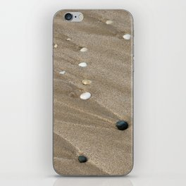 Pebbles and Sand iPhone Skin