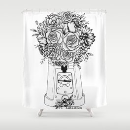 Grow in unfamiliar places Shower Curtain