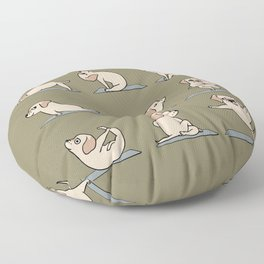 Labrador Retriever Yoga Floor Pillow