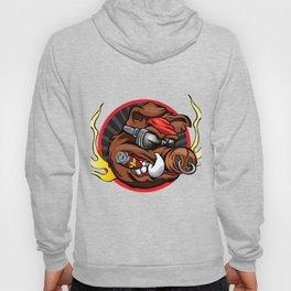 boar head for sport team mascot Hoody